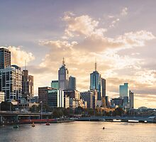 Yarra River 8am by melbournedesign