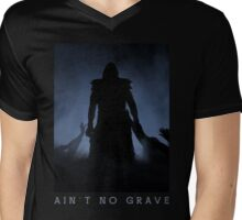 Ain't No Grave Mens V-Neck T-Shirt