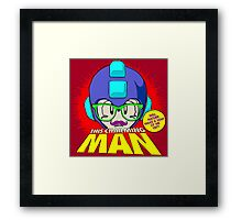 The Smiths 8-bit Project - This Charming Mega Man Framed Print