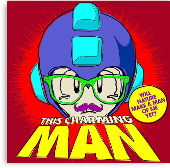 The Smiths 8-bit Project - This Charming Mega Man by butcherbilly