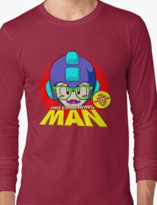 The Smiths 8-bit Project - This Charming Mega Man Long Sleeve T-Shirt