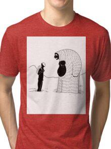 The Inevitable June Yeti Tri-blend T-Shirt
