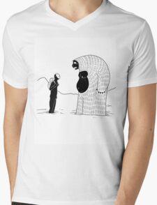The Inevitable June Yeti Mens V-Neck T-Shirt