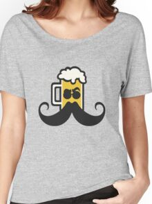 Beer Mustache Women's Relaxed Fit T-Shirt