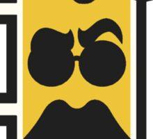 Beer Mustache Sticker