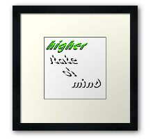 Higher State Of Mind Framed Print