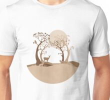New Wood - Brown Paper Unisex T-Shirt