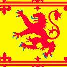 Scottish National Flag by RobsteinOne