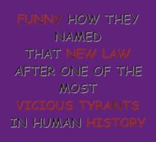 Funny New Law Vicious Tyrant History - V.L.A.D by rockabilby