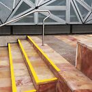 Steps, Federation Square by Roz McQuillan