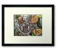 Marcus Gears of War Tribute Framed Print