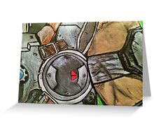 Marcus Gears of War Tribute Greeting Card