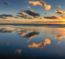 Tallow Beach Sunrise by Cheryl Styles
