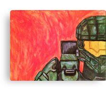 Master Chief Halo Tribute Canvas Print