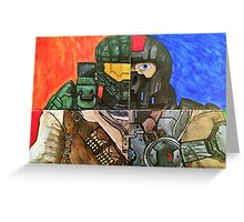 Video Game Tribute Greeting Card