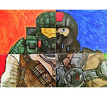 Video Game Tribute Photographic Print