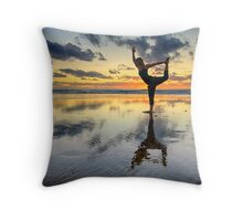 Yogi Throw Pillow