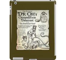 Dr. Oh's Octopodiform Deterrent - Steampunk Tentacles iPad Case/Skin