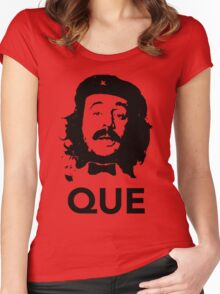 Que guevara Women's Fitted Scoop T-Shirt