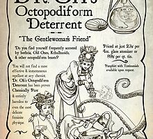 Dr. Oh's Octopodiform Deterrent - Steampunk Tentacles by Julia Lichty