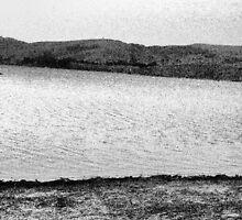 Black & White Lake by StormSageRain