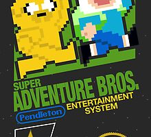 Super Adventure Bros. by Alyssa Brensinger