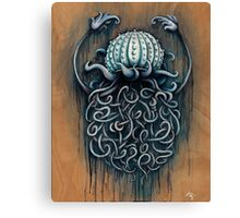 Hard Shelled Jellyfish  Canvas Print