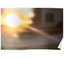 Lensbaby Sunset Flare Poster
