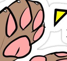 A Round of Applaws! Sticker
