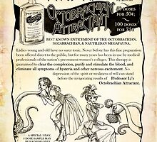 Steampunk Advertisement - Professor Li's Octobrachian Attractant by Julia Lichty