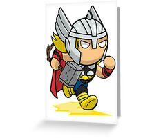 Thor Greeting Card