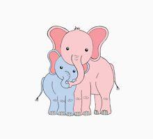 Elephant Family Mom and Son Unisex T-Shirt