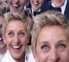 Ellen degeneres x 100 Selfie Sticker