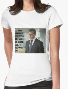 Harvey Specter Suits Womens Fitted T-Shirt