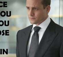 Harvey Specter Suits Sticker
