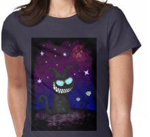 Wicked Kitty Womens Fitted T-Shirt