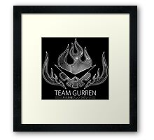 Team Gurren Framed Print