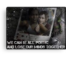 The Last of Us - Left Behind Canvas Print