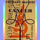 Stamp Out Cancer by aprilann