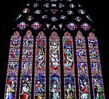 Window at St Pats by Karen Tregoning
