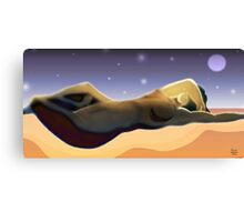 Reclining Figure Canvas Print