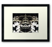 Inverted. Framed Print