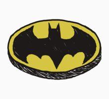 Batman Classic Logo - Handstyle by Absubble