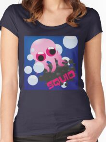 Squid Women's Fitted Scoop T-Shirt