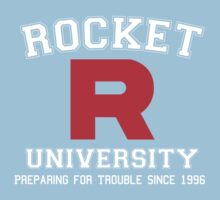 Team Rocket University One Piece - Short Sleeve