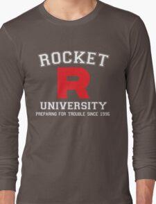 Team Rocket University Long Sleeve T-Shirt