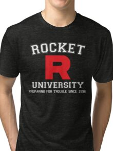 Team Rocket University Tri-blend T-Shirt
