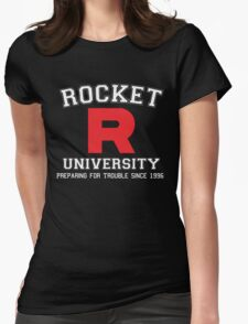 Team Rocket University Womens Fitted T-Shirt