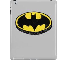 Batman Classic Logo - Handstyle iPad Case/Skin