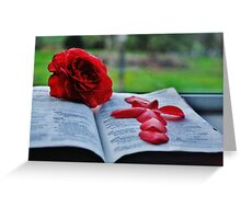 Book-Obects Greeting Card